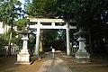 Tenso Wakamiya hachimangu torii - aug 8 2015.jpg