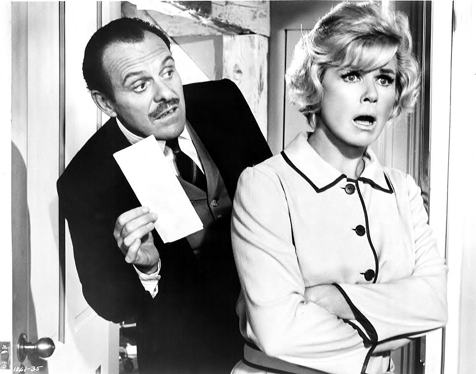Terry-Thomas & Doris Day in Where Were You When the Lights Went Out