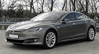 Tesla Model S - Image: Tesla Model S (Facelift ab 04 2016) trimmed