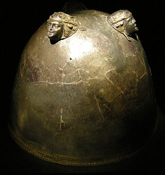 Morgantina treasure - Bowl for mixing wine