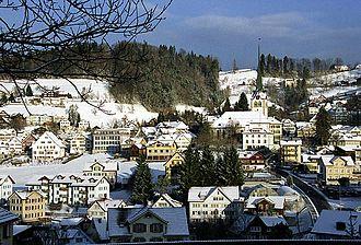 Teufen, Appenzell Ausserrhoden - Image: Teufen