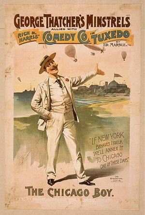 Tuxedo (vaudeville) - Advertisement