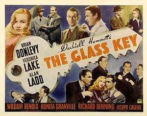 William Bendix - Poster for The Glass Key (1942)