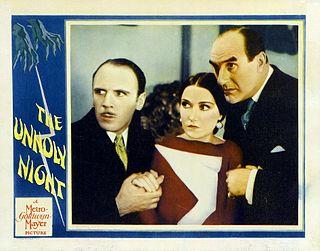 <i>The Unholy Night</i> 1929 film