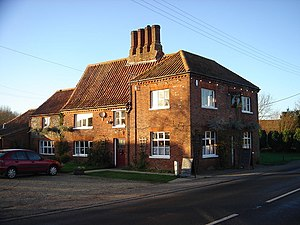 Samuel Lincoln - The home of Richard Lincoln, grandfather of Samuel Lincoln, Swanton Morley, Norfolk, England. Today a village pub.