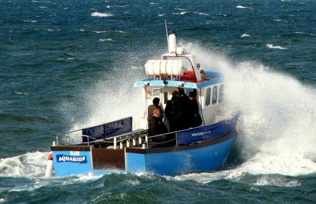 The 'Blue Aquarius' off Bangor - geograph.org.uk - 1024552