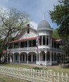 The 1872 Gruene Family Home, a Victorian-style house in the German-immigrant cotton-farming community of Gruene, now part of New Braunfels, Texas LCCN2014632384.tif