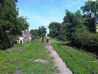 Bloomingdale Line - The Bloomingdale in Bucktown in 2009
