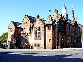 Montrose Library - Image: The Carnegie Library geograph.org.uk 1311138