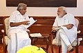 The Chief Minister of Kerala, Shri Oommen Chandy calling on the Prime Minister, Shri Narendra Modi, in New Delhi on October 16, 2014.jpg