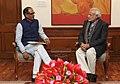 The Chief Minister of Madhya Pradesh, Shri Shivraj Singh Chouhan calling on the Prime Minister, Shri Narendra Modi, in New Delhi on January 14, 2015.jpg