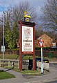 The Cobbler (2) - sign, Cobblers Lane, Pontefract (geograph 3392770).jpg