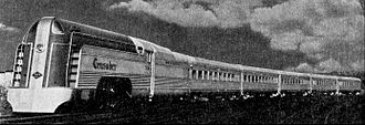Crusader (train) - The 1937-built Crusader trainset