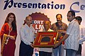 "The Director of the Spanish Short Film ""MONDAY TO FRIDAY"" Mr. Albert Bayona receiving Vadudha Award for the best short film from the Speaker of Goa Assembly, Shri Pratap Singh Rane.jpg"