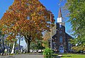 The English Neighborhood Reformed Church is the oldest building in Ridgefield, NJ, erected on it's current site back in 1793.,taken 10,19,208.jpg