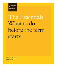 The Essentials - Wikipedia Education Program US Canada.pdf