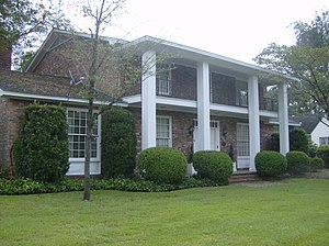 National Register of Historic Places listings in Coffee County, Georgia - Image: The Evans Home 328 N Gaskin Ave