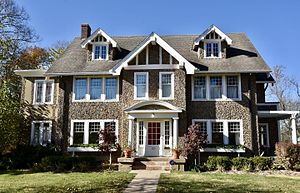 National Register of Historic Places listings in Monroe County, Iowa - Image: The George A. Jenkins House