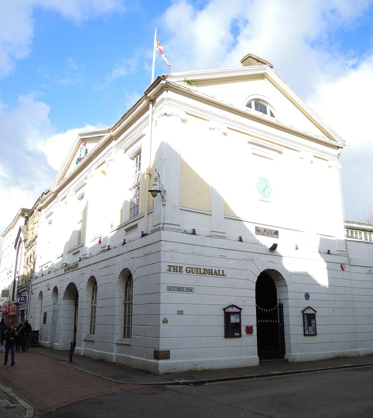 Guildhall Barnstaple Wikipedia