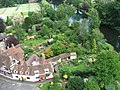 The Mill Garden viewed from Warwick Castle.jpg