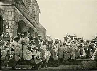 Kingstown - People of Kingstown, ca. 1902