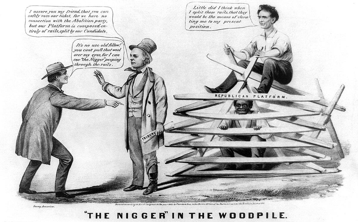 nigger in the woodpile - wikipedia