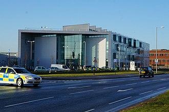 Newland, Kingston upon Hull - Humberside Police headquarters, Clough Road (2014)