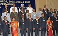 The Prime Minister, Dr. Manmohan Singh with the Prime Minister's Shram Awardees for the years 2005, 2006 and 2007, at a function, in New Delhi on September 15, 2010 (2).jpg