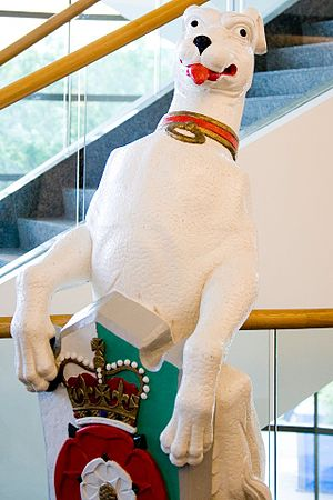 The Queen's Beasts - The White Greyhound of Richmond.jpg