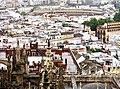 The Real Maestranza bullring from Giralda belltower, Sevilla, Spain.jpg