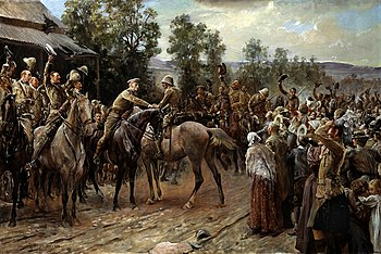 The Relief of Ladysmith by John Henry Frederick Bacon