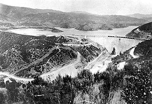 St. Francis Dam - St. Francis dam