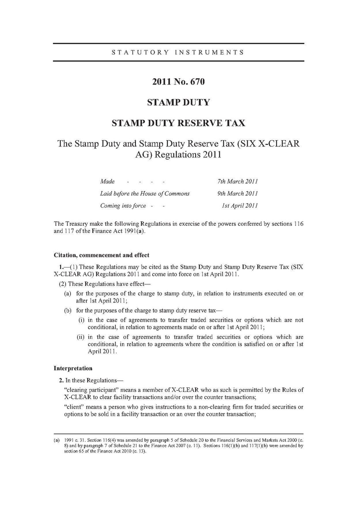 File:The Stamp Duty and Stamp Duty Reserve Tax (SIX X-CLEAR AG ...