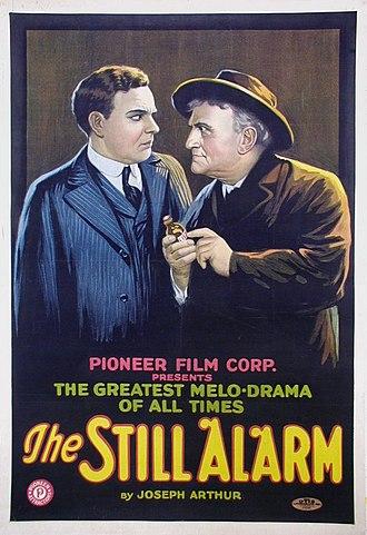 The Still Alarm - Film poster for 1918 silent film version of The Still Alarm