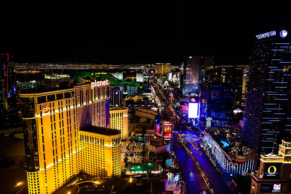 The Strip from Eiffel Tower (9176999807)