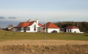Luffness - Image: The clubhouse at Luffness New Golf Course (geograph 2283985)