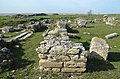 The foundations and architectural remains of the Episcopal Basilica, built in the first half of the 6th century AD, Histria, Moesia Inferior, Romania (42458319302).jpg