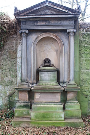 Patrick Neill (naturalist) - The grave of Patrick Neill, Warriston Cemetery
