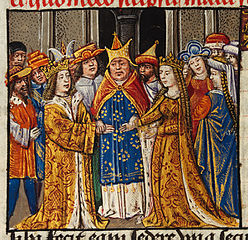 The marriage of Alexander and Darius' daughter