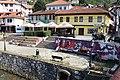 The squares near the bridges and river Lumbardh, Prizren.jpg