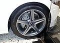 The tire wheel of Mercedes-Benz C 180 Laureus Edition (W205).jpg