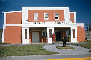 Kindley Air Force Base - Theater at Kindley AFB in early 1953