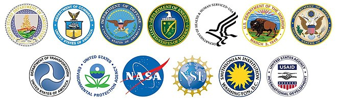 symbols of the 13 federal agencies