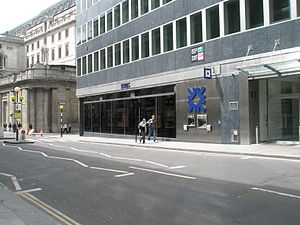 St Bartholomew-by-the-Exchange - Current photo of site