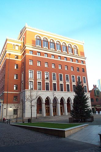 Business rates in England - Three Brindleyplace, an office block in Birmingham. Although a single building, it has multiple occupiers. It therefore contains multiple hereditaments, each with a separate entry in the 2005 rating list.
