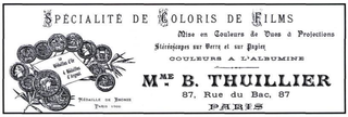 Elisabeth Thuillier French film colourist