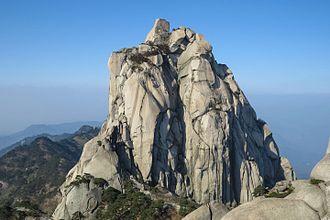 Qianshan County - Peak of Tianzhu Mountain