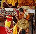 Tibetan buddhist sakya mandala offering.jpg