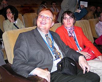Miloš Tichý - Miloš Tichý and his ex-wife Jana Tichá