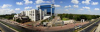TIDEL Park - Tidel Park and ELNET on Rajiv Gandhi Salai